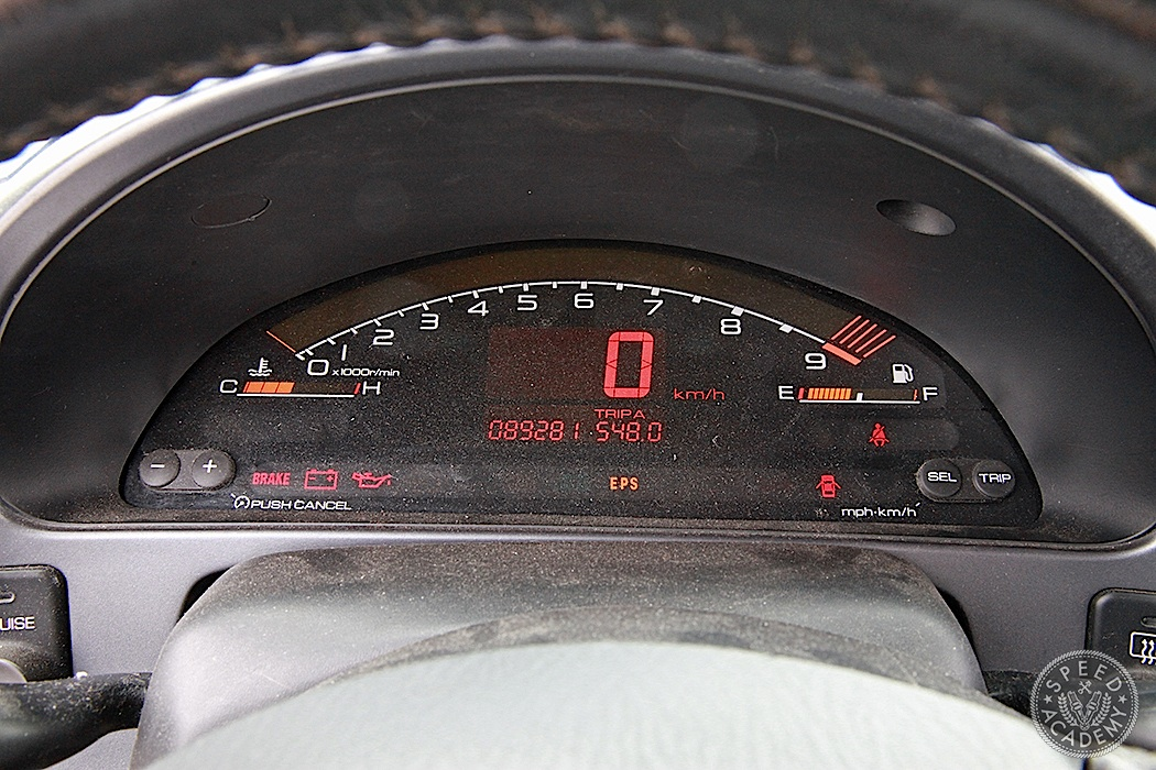 Still one of the coolest gauge clusters of all time? We think so.