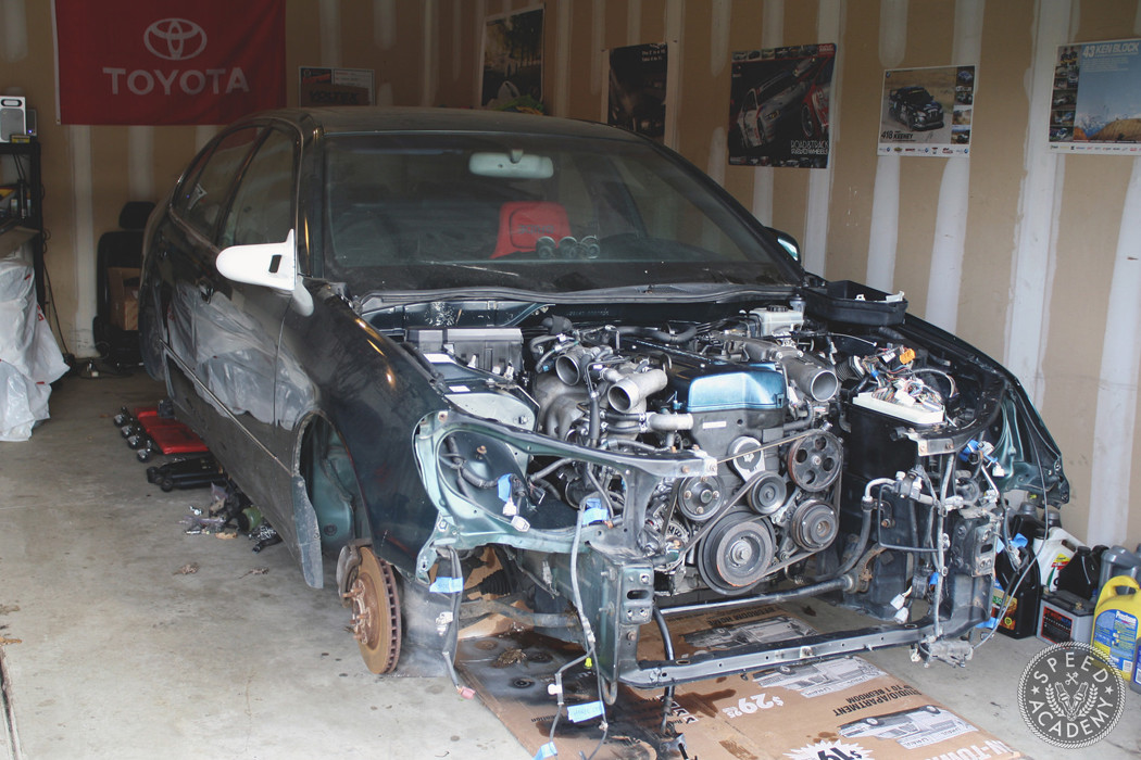 Project Boosted Baby Hauler Engine Rebuild Part 1 Speed