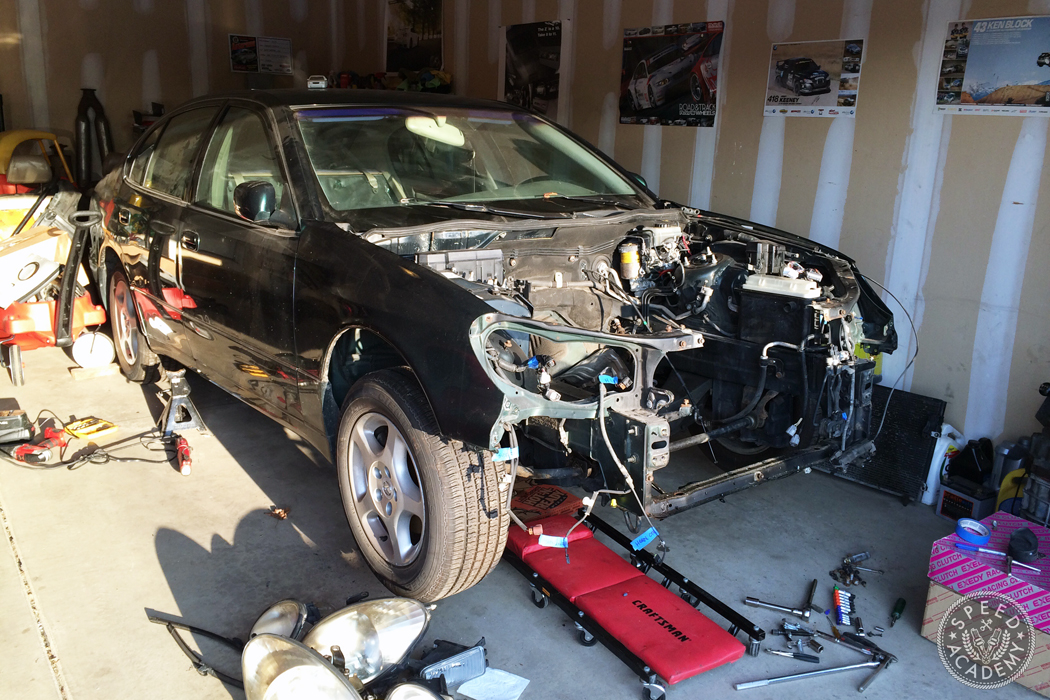 Project 2JZGTE Lexus GS400 Intro: The Boosted Baby Hauler