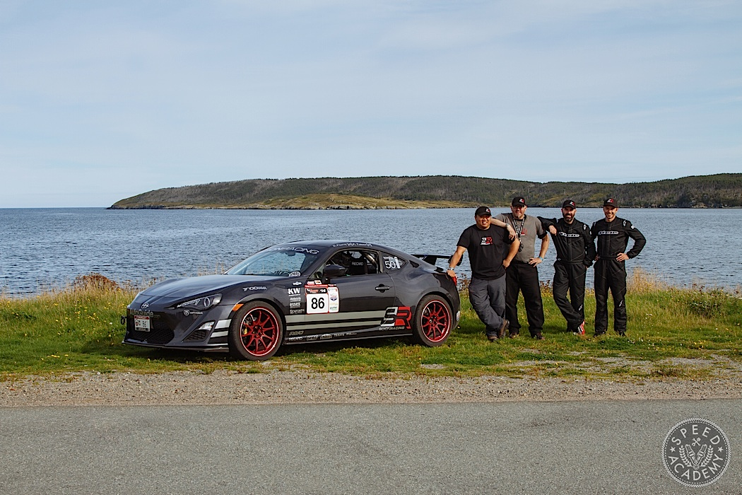 Looking pretty pro in our Alpinestars gear and Scion Racing swag!