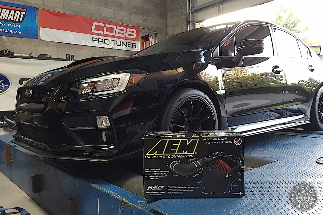 Dyno Tested: AEM Cold-Air Intake 2015 Subaru Impreza STI