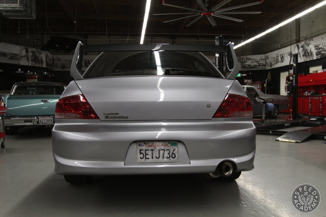 Mitsubishi Evolution JDM Rear Bumper Conversion | Speed Academy