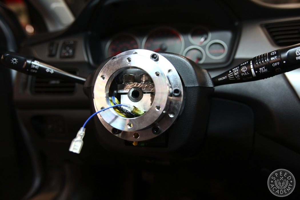 Aftermarket Steering Wheel Install