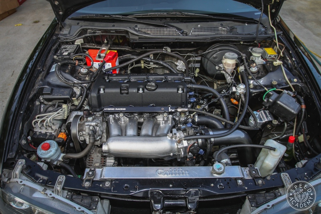 K20A-kswap-integra-engine-bay