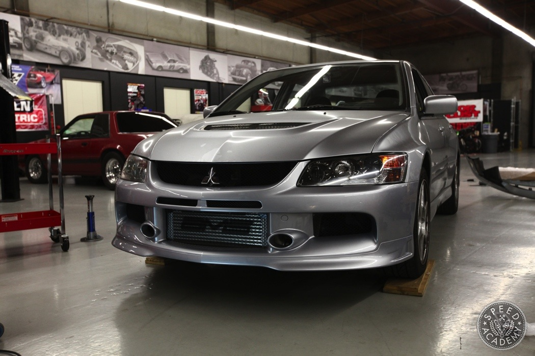 mitsubishi evo viii to ix bumper conversion speed academy. Black Bedroom Furniture Sets. Home Design Ideas