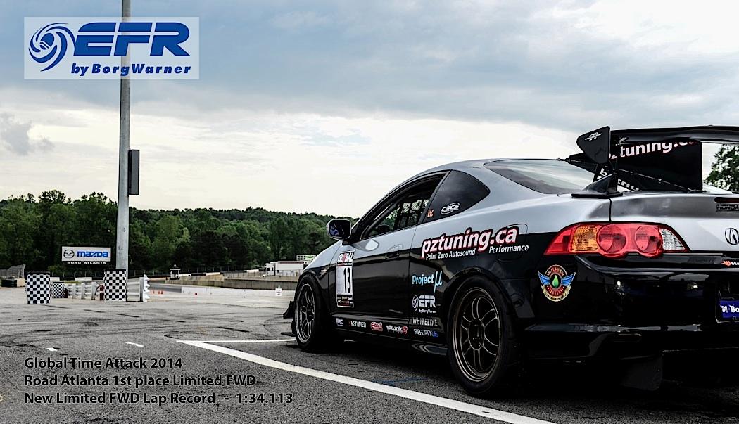 Limited FWD Time Attack Record Breaker! PZ Tuning RSX Stuns at 2014