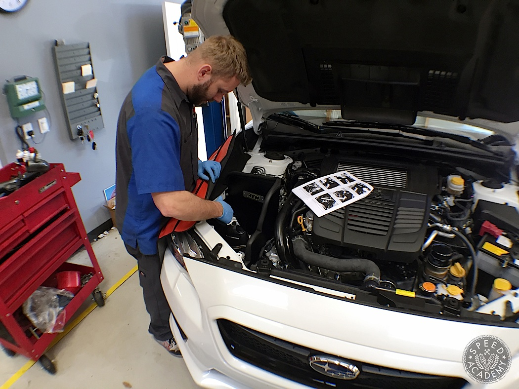 dyno tested aem cold air intake 2015 subaru wrx speed academy