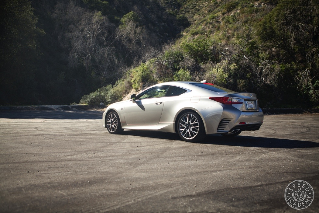 living the cali high life in a lexus rc 350 f sport. Black Bedroom Furniture Sets. Home Design Ideas