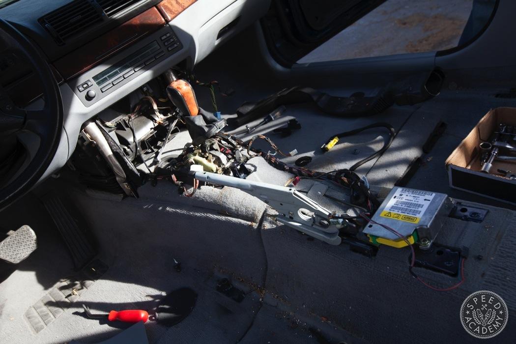From Grey To Black Bmw E39 Interior Swap Speed Academy