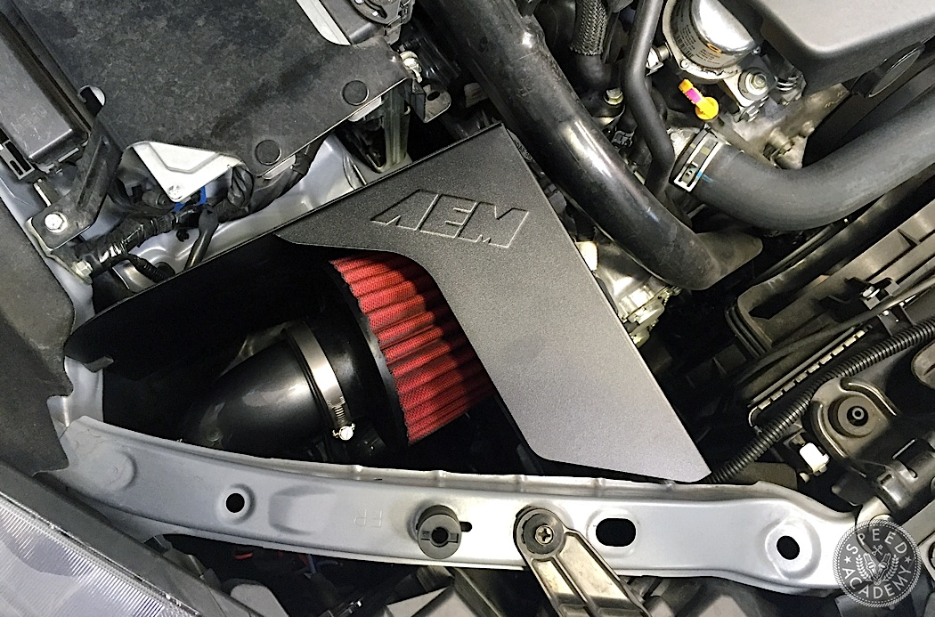 Subaru Forester Aem Intake on Air Suspension Solenoid