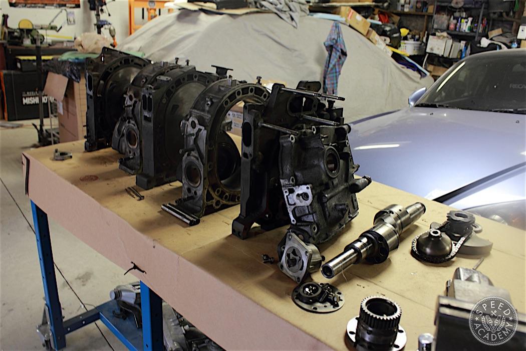 Rotary Engine Teardown: We prepare a spare block for more