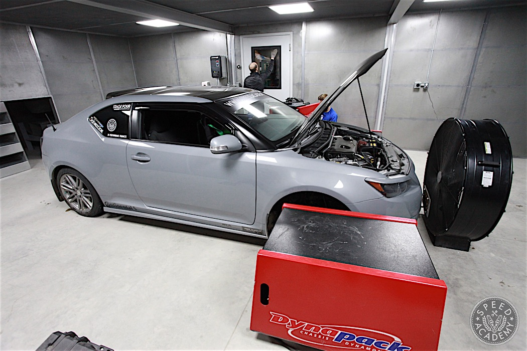 Scion TC Dyno Test: AEM CAI And Dezod Motorsports Header
