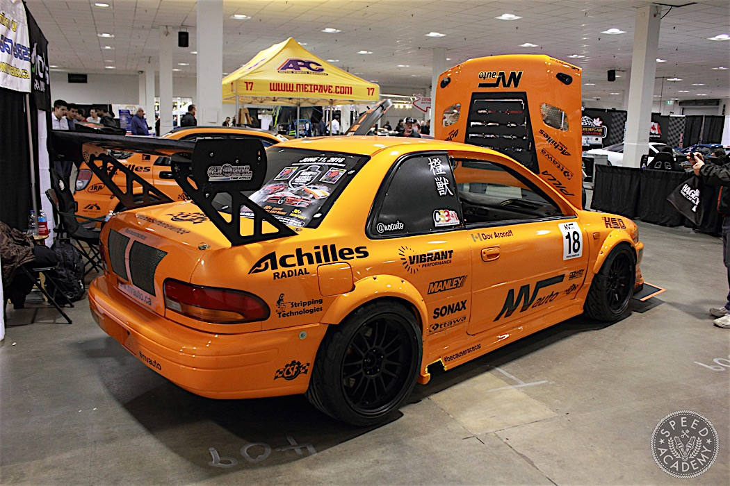 VN Auto's Time Attack Subaru GC as seen at Motorama 2016