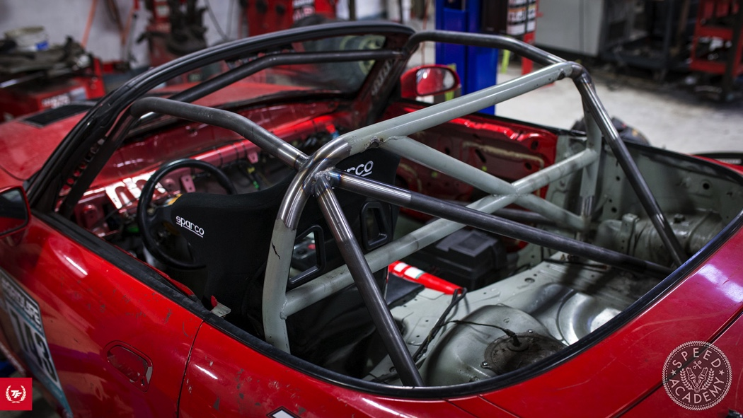 Safety First Devin S Honda S2000 Gets A Roll Cage Speed