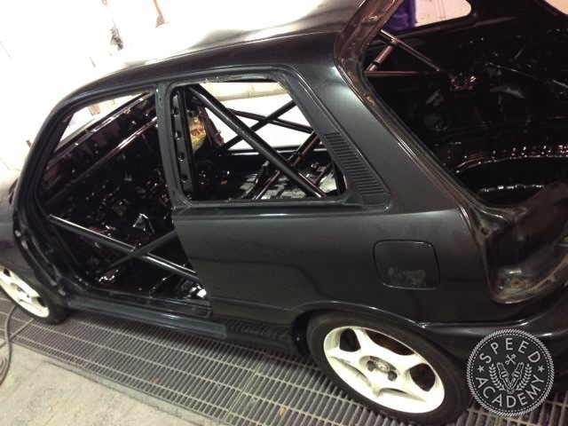 Toyota Starlet Race Car Build Part 2 Adding Lightness Safety