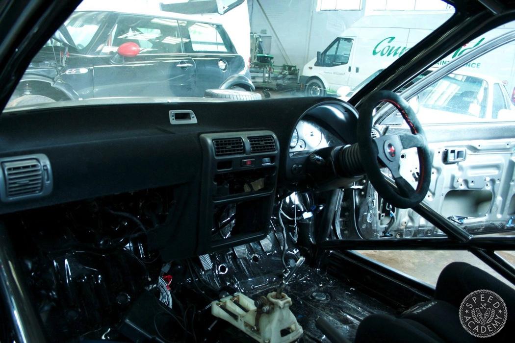 Toyota Starlet Race Car Build Part 2: Adding Lightness & Safety ...