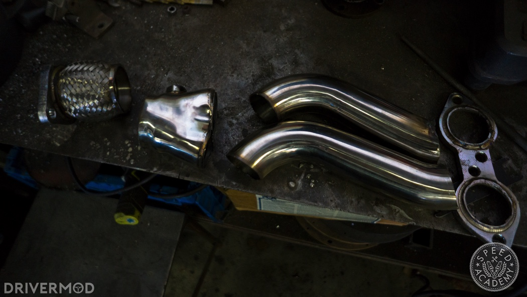 Mazda Miata 2 4L Ecotec Swap Part 8: Header & Exhaust System