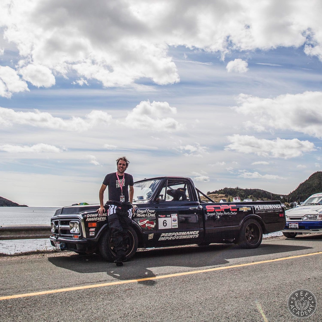 It Was The First Truck To Run In Targa Newfoundland 2017 His Love Addiction For Open Road Racing Has