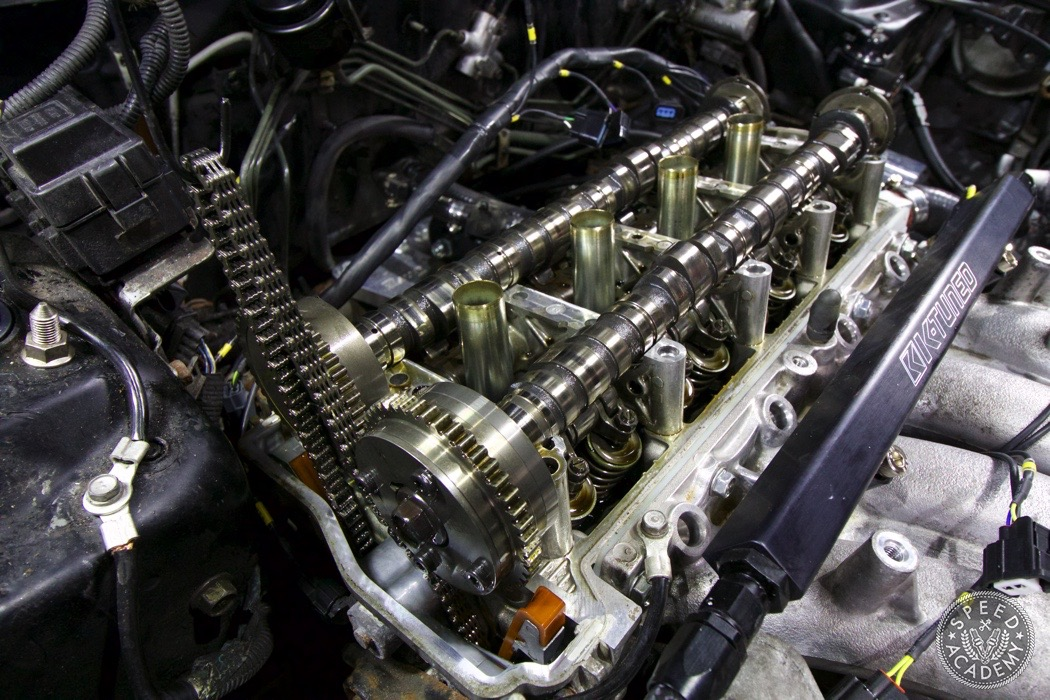how to install honda k series camshafts speed academy