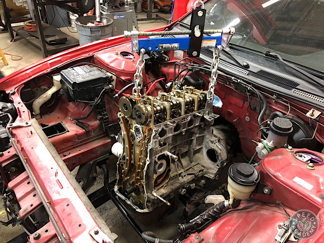 How To Swap a Honda K-series Engine Into a S14 Nissan 240SX