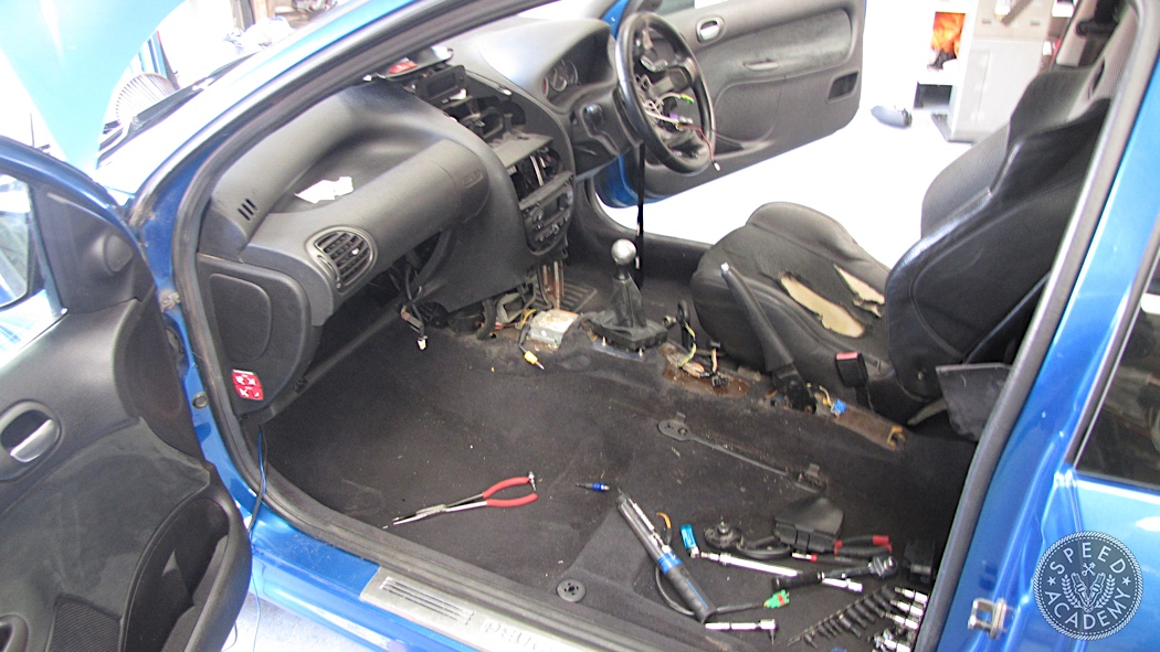Jpe Peugeot 206 Gti Track Car Build Interior Day Speed Academy