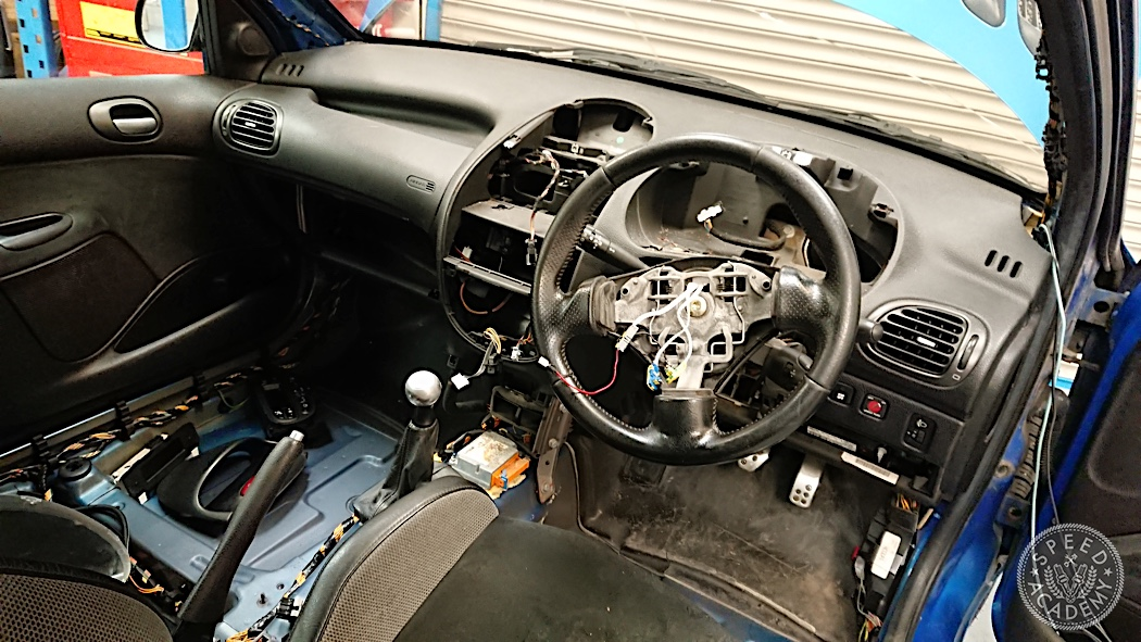 Jpe Peugeot 206 Gti Track Car Build Interior Day 3 Speed Academy