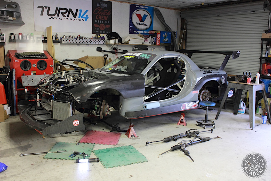 Project FD RX-7 Update LHD Conversion, Fender Widening and