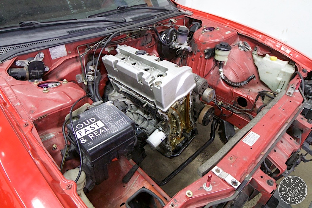 How To Swap A Honda K-Series Into A S14 Nissan 240SX: Part 3