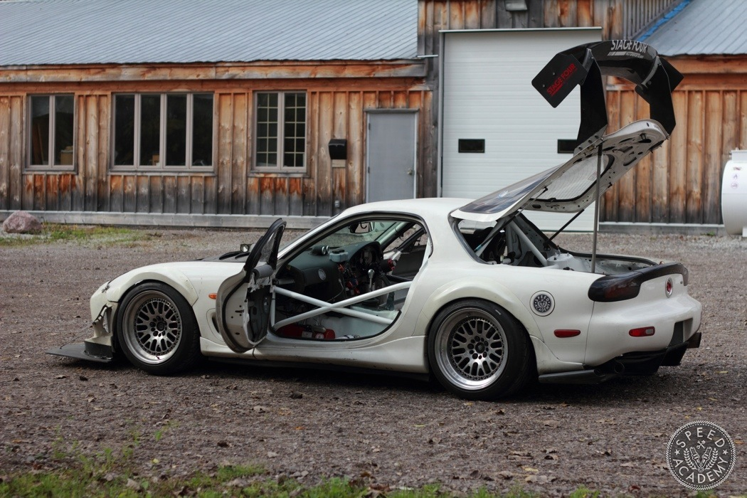 Project Rotary Race Mule Building A Roll Cage Speed Academy