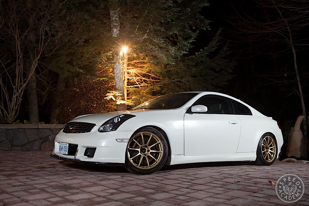 infiniti g35 tuning how to bolt on over 40 wheel. Black Bedroom Furniture Sets. Home Design Ideas