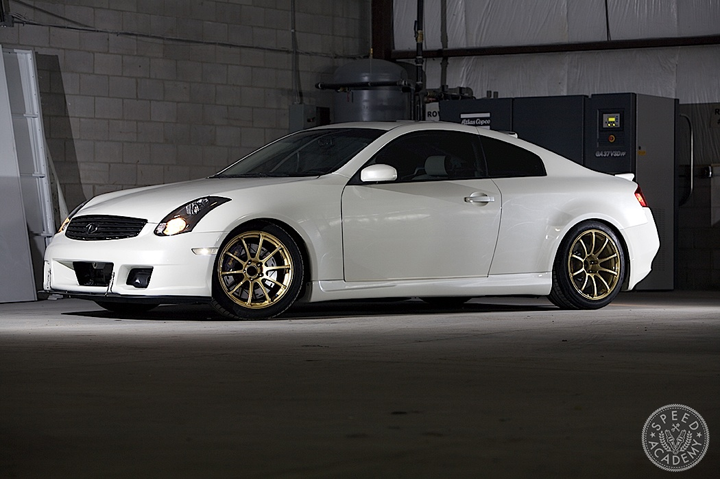 Infiniti G35 Tuning Big Brakes Make A Big Difference