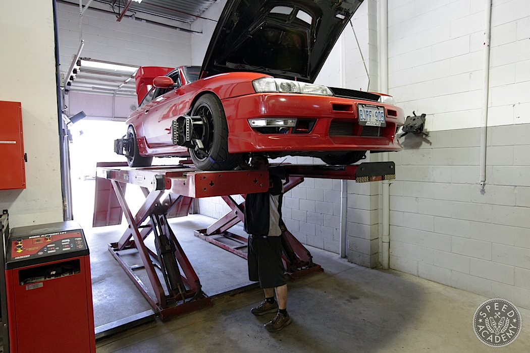 Track alignment specs s14 nissan 240sx speed academy s14 nissan 240sx publicscrutiny Images