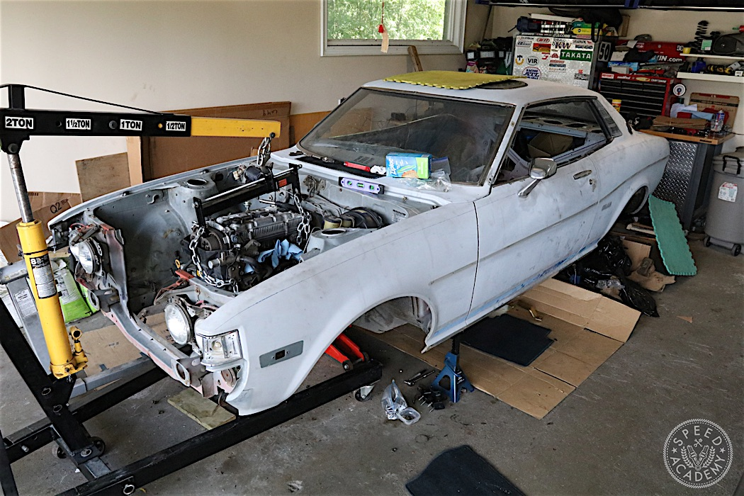 How To Install A Beams 3sge Blacktop Into A 1st Gen Celica