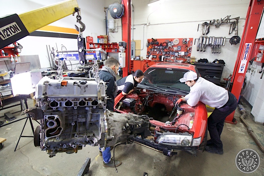 How To Swap A Honda K Series Engine Into A S14 Nissan 240sx Part 1