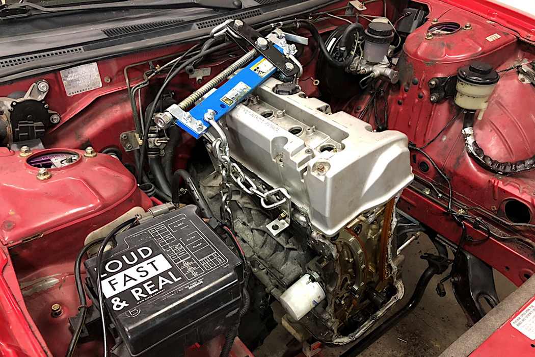 how to swap a honda k series engine into a s14 nissan. Black Bedroom Furniture Sets. Home Design Ideas